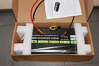 12-220в инвертор 1000w номинал, чистая синусоида для котла двигателя телевизора освещения сигнализации
