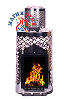 Печь-каменка Магия Огня 25+3 Жарко