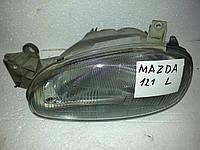Фара левая на Mazda 121 1991-1996 года. БУ. Код DB04-51-0L0C