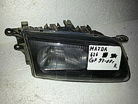 Фара механічна ліва на Mazda 626 GE 1992-1997 БУ оригінал 8DGZ51040B