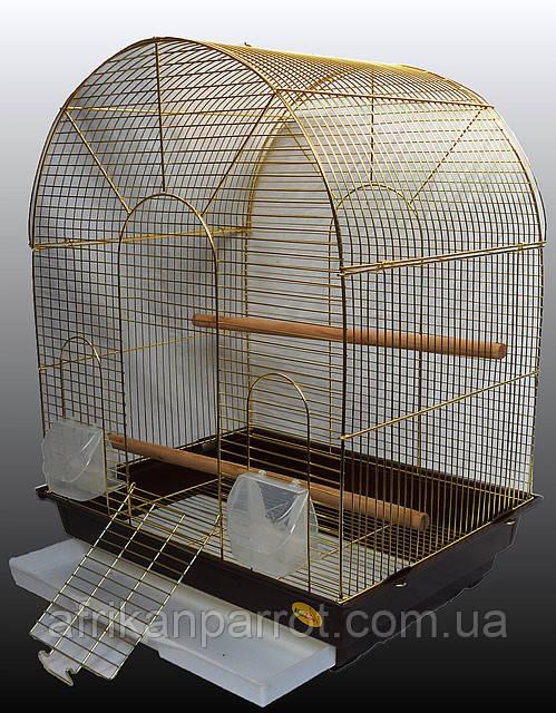Клетка для средних попугаев. 52*42*66 см