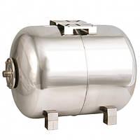 Гидроаккумулятор Werk горизонтальный, нержавеющая сталь, 24 л (BP37125)