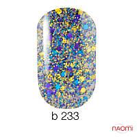 Гель-лак Naomi Gel Polish Brilliant 233, 6 мл