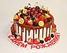 Торт с шоколадной глазурью, фото 9
