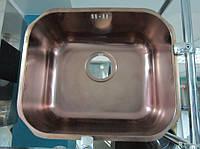 Мойка из нержавеющей стали под столешницу Альвеус Вариант - Alveus Variant 40 + PVD (медь)