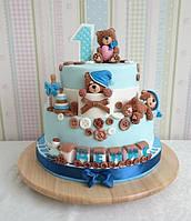 Торт на 1 годик мальчику, фото 1