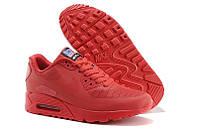 Женские кроссовки Nike Air Max 90 Hyperfuse красные, фото 1