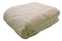 Одеяло меховое двустороннее, натуральная шерсть овцы, ручная работа.