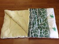Одеяло из натуральной овечьей шерсти. Полуторное, ткань: поликотон+мех