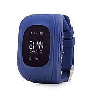 Детские Умные Часы Q50 c GPS, Русифицированные! синие