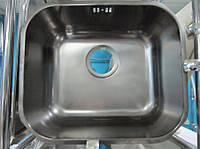 Мойка кухонная врезная Alveus Variant 40 + PVD из нержавеющей стали под столешницу  (titan), фото 1
