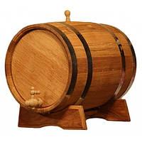 Бочка із дуба для вина.Місткість на 5 літрів.У ціну входить і підставка