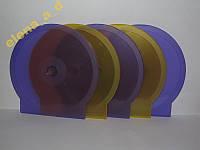 """Набор боксов для дисков """"Ракушка"""" 1 CD"""