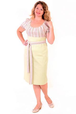 Платье женское из натуральных материалов, пл 718606.