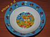 С015 Набор детской посуды Зайчонок