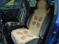 Деревянная массажная накидка на сиденья