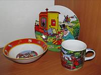 C190 Набор детской посуды: Фунтик
