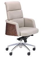 Кресло Phantom LB серый кожзам PU