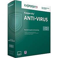 Kaspersky Anti-Virus 2015 2 ПК 1 ГОД продление