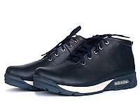 Кожаные ботинки мужские зимние, фото 1