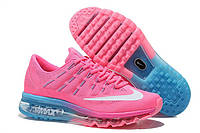 Женские кроссовки Nike Air Max Pink/Blue, фото 1