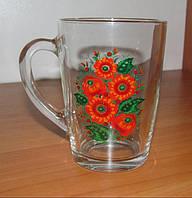 Чашка Мальвы 300 мл стекло