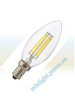 Светодиодная лампа Filament Candle 4W 4200K E14
