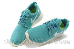 Женские кроссовки Nike Roshe Run бирюзовые