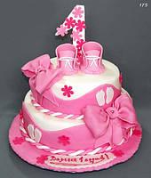 Торт на 1 годик девочке, фото 1