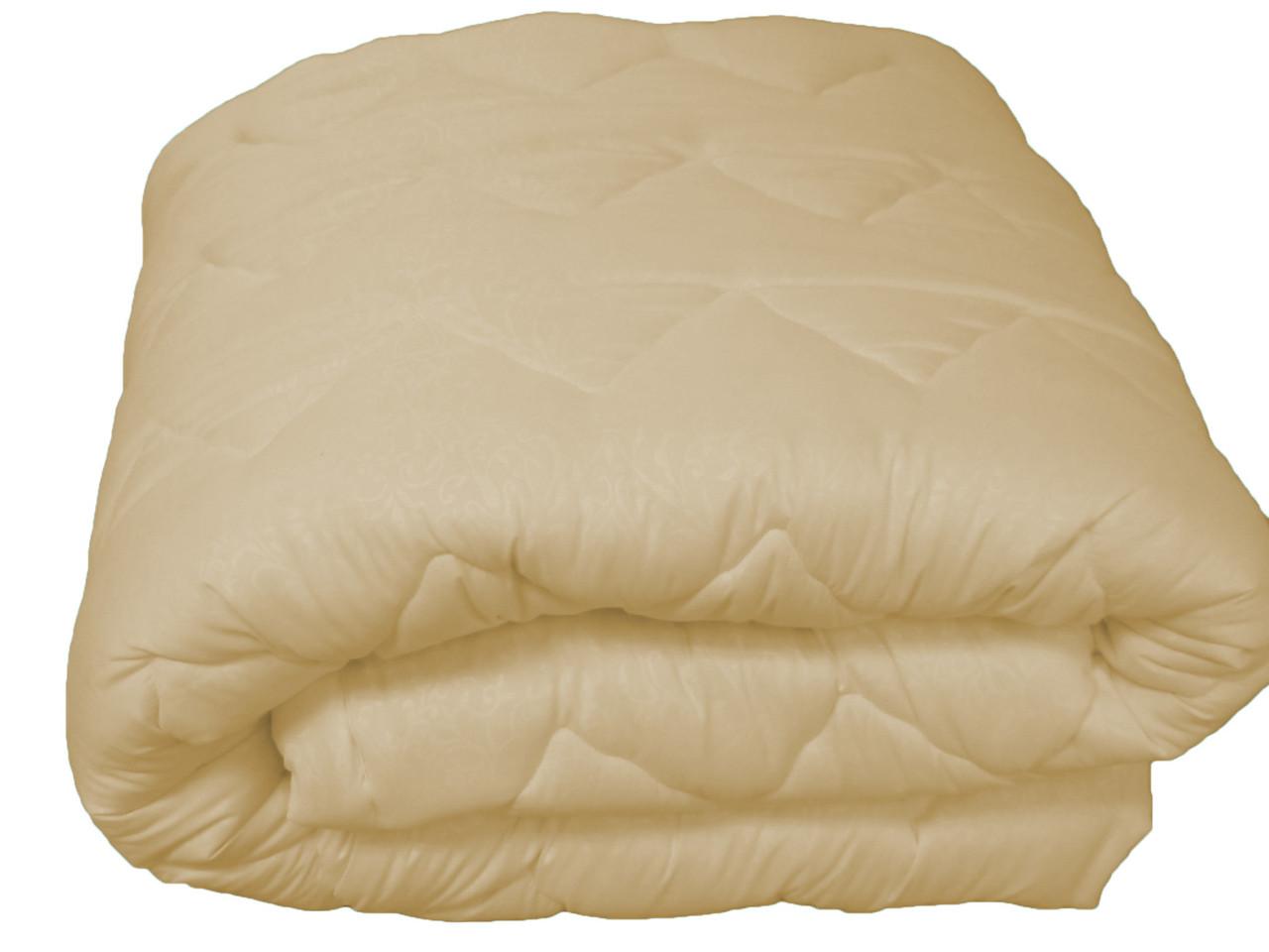 Одеяло 1,5 микрофибра на овечьей шерсти 150х215 см, фото 1
