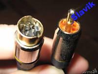 Кабель,шнур  S-Video (4 pin) на 1 rca 15 метров