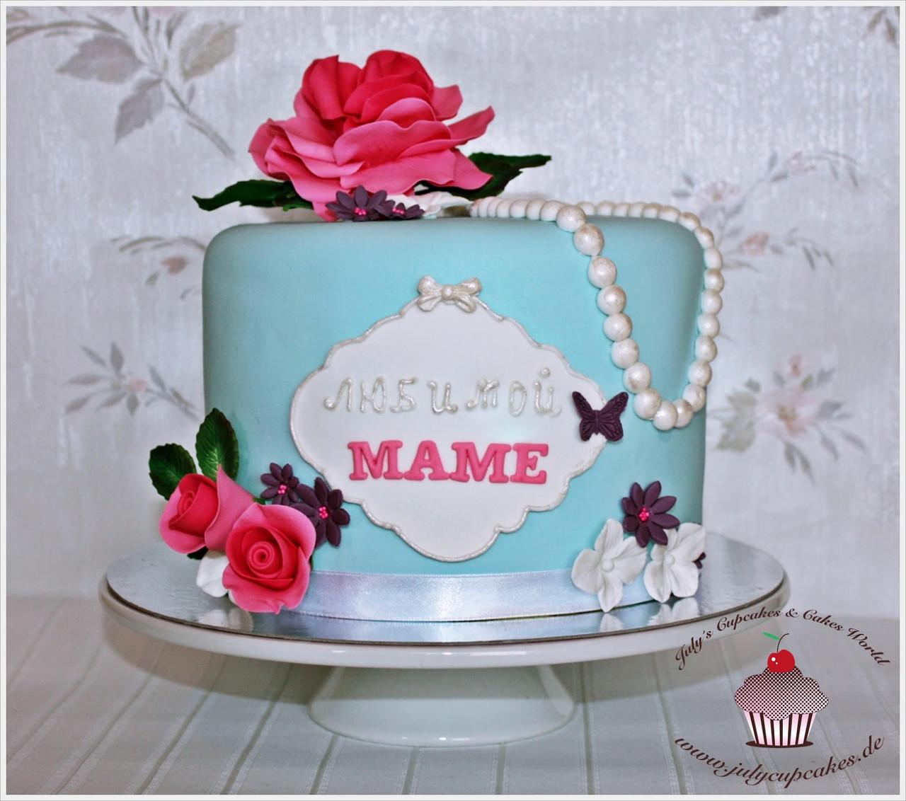 Торт для мамы