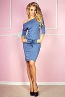 Сукня туніка жіноча куліска з кишенями, фото 1