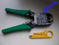 Клещи для обжима rg45 (клещи,обжимка,инструмент)