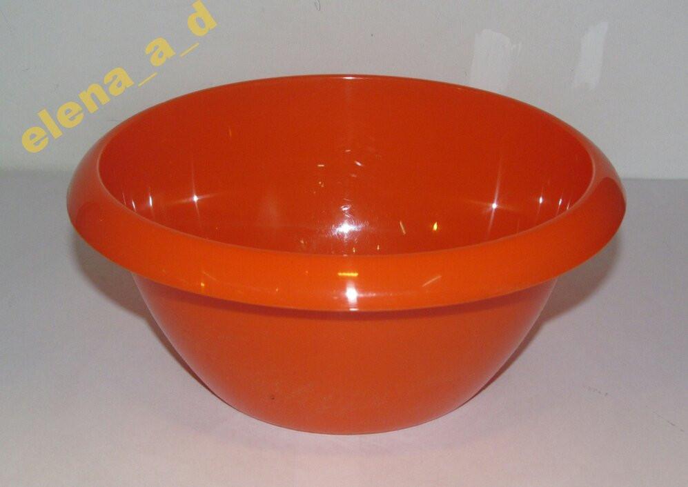 Салатник Горизонт 1 л (оранжевый)
