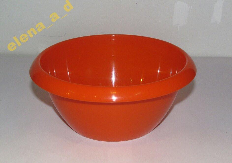 Салатник Горизонт 0,5 л (оранжевый)