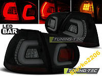 ФОНАРИ VW GOLF 5 10.03-09 BLACK SMOKE LED BAR