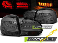 ФОНАРИ VW GOLF 6 10.08-12 SMOKE LED BAR (LDVWD1)
