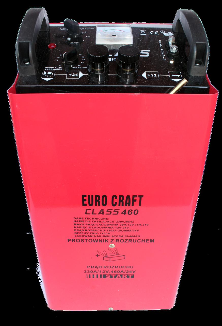 Зарядне автомобільне +пускове Euro Craft  CLASS460