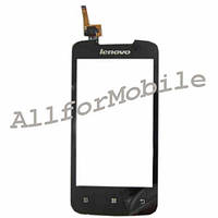 Сенсор (Touch screen) Lenovo A390 black (6 pin)