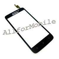 Сенсор (Touch screen) Lenovo S650 black