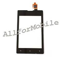 Сенсор (Touch screen) Sony C1503 / C1504 / C1505 / C1605/ C1604 Xperia E Dual black