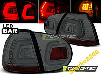 ФОНАРИ VW GOLF 5 10.03-09 SMOKE LED BAR (LDVWA2)