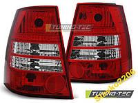 ФОНАРИ VW GOLF 4 BORA 99-06 VARIANT RED WHITE
