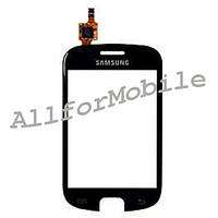 Touch Sensor Samsung S5670 black/white +бампер ori