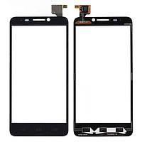 Сенсор (Touch screen) Alcatel 6030D One Touch Idol черный