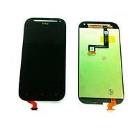 Дисплей (LCD) HTC C520e/ T528t One SV One ST с сенсором черны