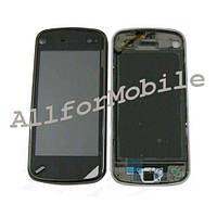 Touch screen (Sensor) Nokia N97 black +рамка