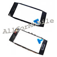Touch screen (Sensor) Nokia X7 +Frame black orig