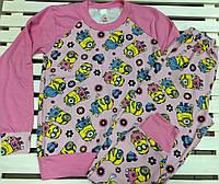 Пижама для девочки подростка на рост 146,152,158